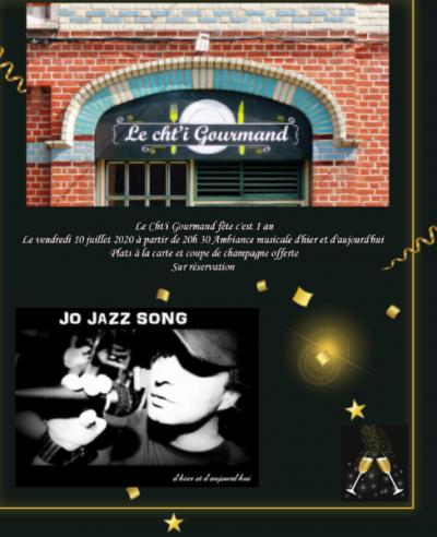Le Restaurant Le Cht'i Gourmand fête son première anniversaire le  10 Juillet 2020